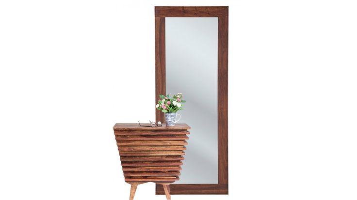 Commode et miroir en bois exotique - Toto - Kare Design