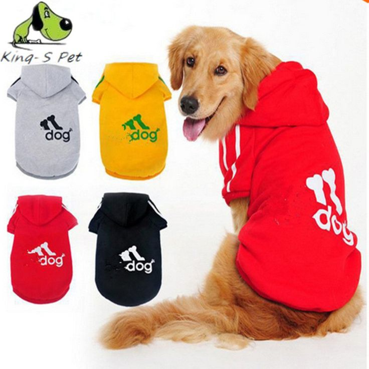 Large Dog Clothes Coat Spring Warm Hoodie...FREE SHIPPING...