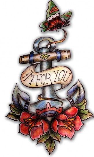 Idee tatuaggi Old School per lei