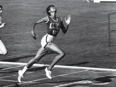 """U.S. """"My doctors told me I would never walk again. My mother told me I would. I believed my mother"""" - Wilma Rudolph, the first American woman to win 3 gold medals in track and field events at Rome Olympics Games, 1960"""