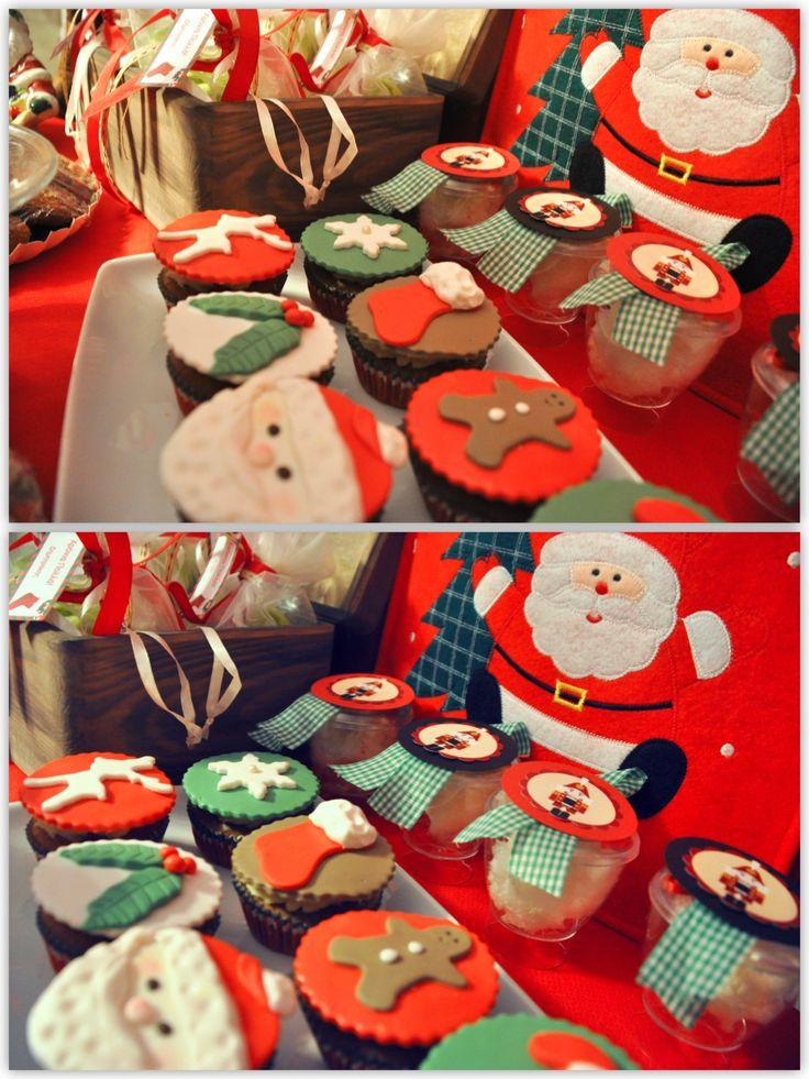 Christmas treats table