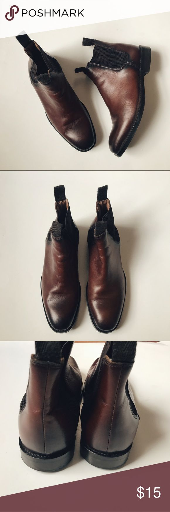 h&m | chelsea boot •genuine leather •used •size 7.5 •made in Portugal •price firm H&M Shoes Boots