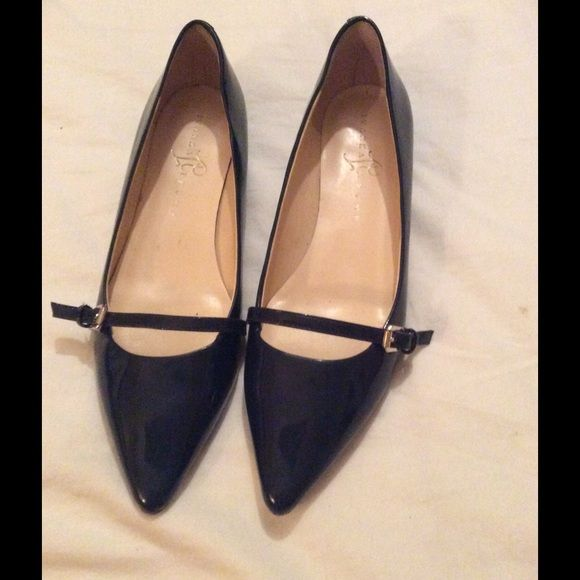 Ivanka Trump patent leather flats
