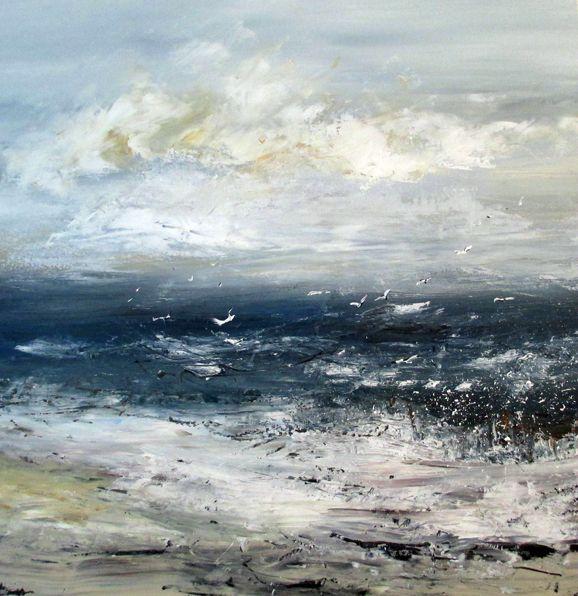 Seascape by Hettie Pittman www.shorelinegallery.co.uk