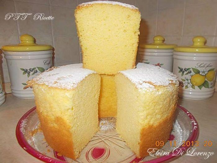 Chiffon cake al limoncello   Ricetta
