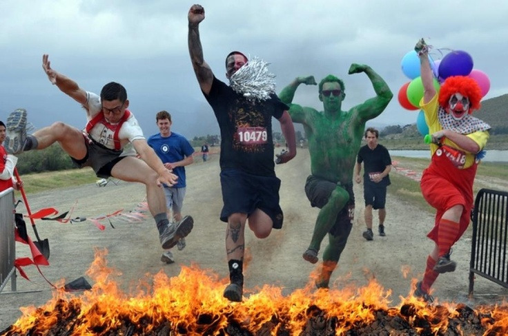 Why not try it!!!    WARRIOR DASH