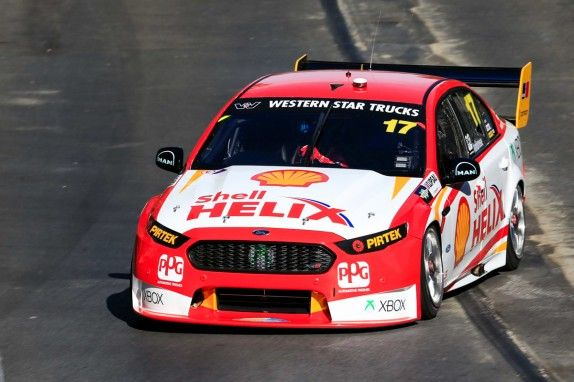 Marcos Ambrose - Practice 1 - 2015 Clipsal 500 Adelaide. Photo courtesy V8 Supercars.