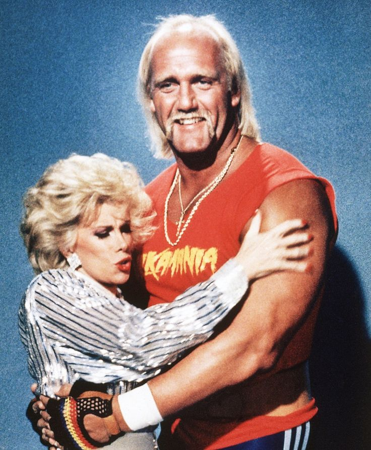 Joan Rivers and Hulk Hogan