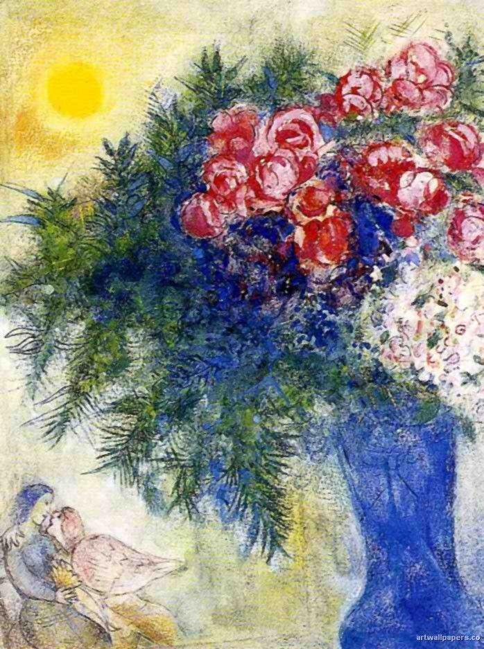 Les 1336 meilleures images du tableau art marc chagall for Chagall tableau