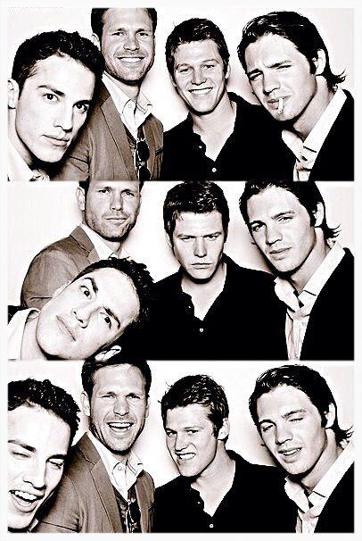 The Vampire Diaries Tyler Lockwood - Michael Trevino Alaric Saltzman - Matt Davis Matt Donovan - Zach Roerig Jeremy Girlbert - Steven R. McQueen