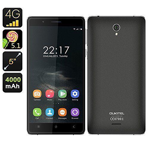 OUKITEL K4000 5.0   Android 5.1 Smartphone Quad Core Dual SIM 2GB 16GB 13MP GPS