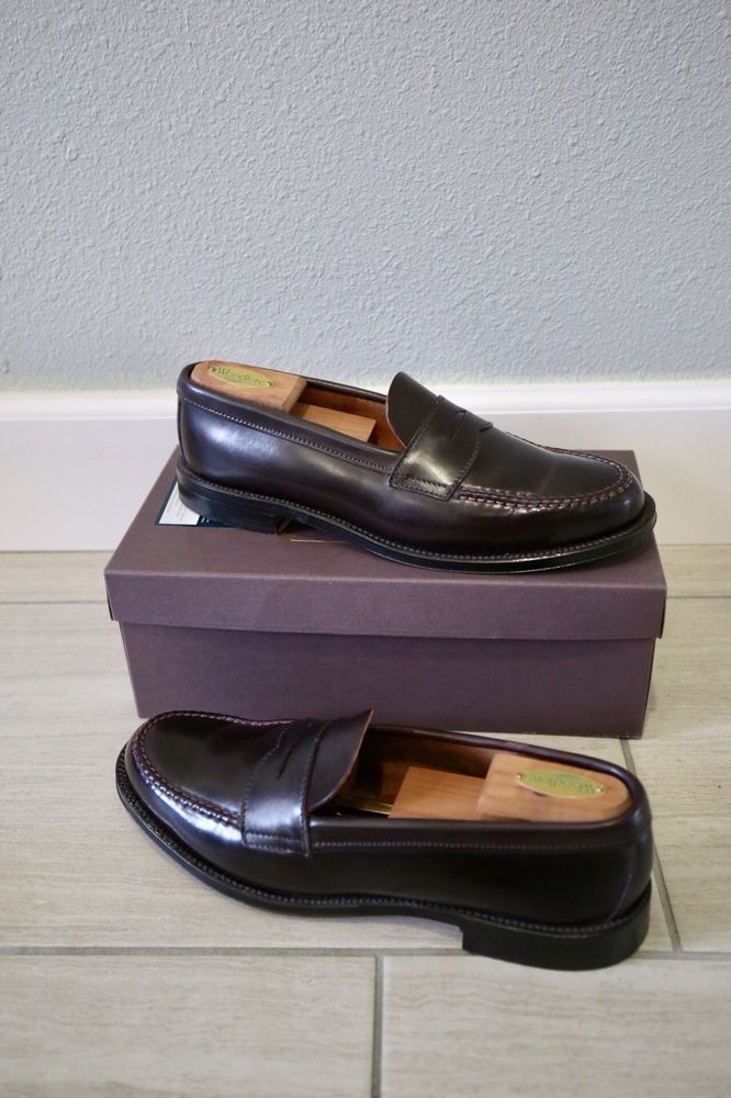 729cf701ea021 Alden   Brooks Brothers   Loafers   Color 8 Shell Cordovan   9.5 D    Excellent  fashion  clothing  shoes  accessories  mensshoes  dressshoes  (ebay link)