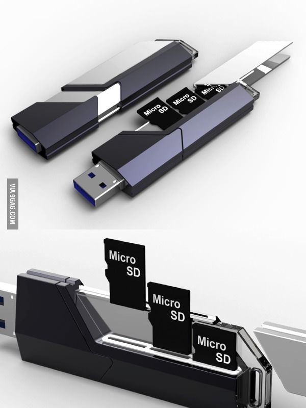 Okay that's really cool. Especially if you have numerous micro SD's which I don't lol