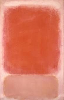 Red and Pink on Pink, Mark Rothko, circa painting art painting| http://paintingwilfrid.blogspot.com