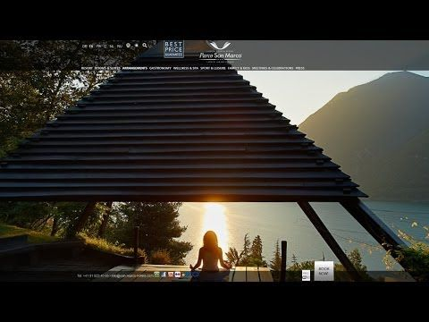 ▶ Unique Moments in this Lake #Lugano #Hotel - Private Beach, Lifestyle, #Como - #YouTube