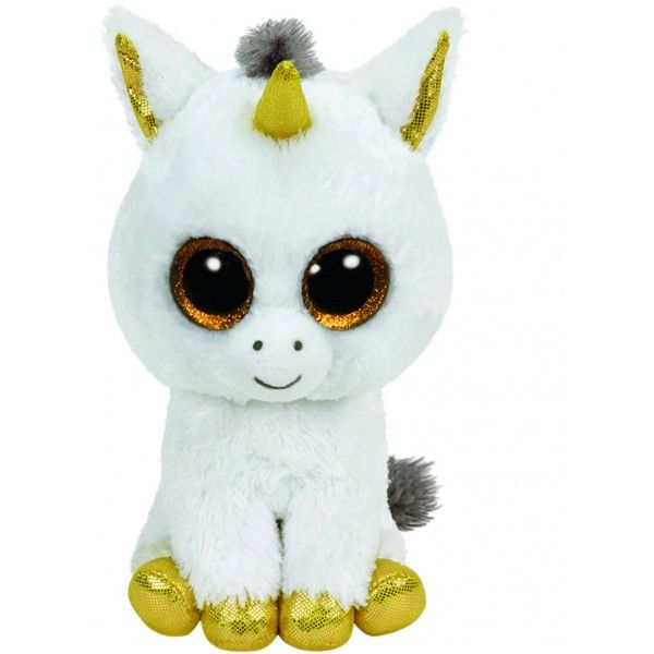 TY Beanie Boos - Pegasus The White Tiger