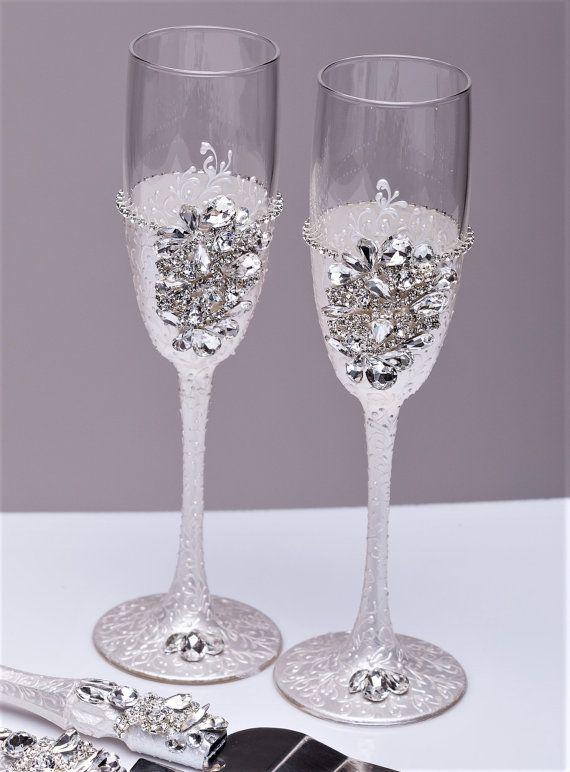 Boda plata copas flautas de champán gafas tostados bodas de