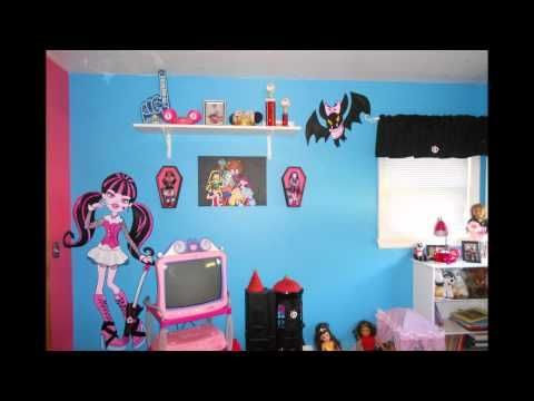 Monster High Bedroom for hannah