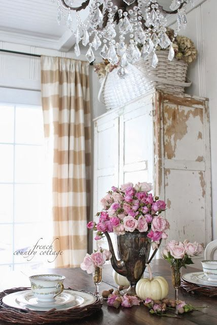 Shabby Country Curtain Ideas