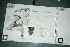 tijdlijnboek maken