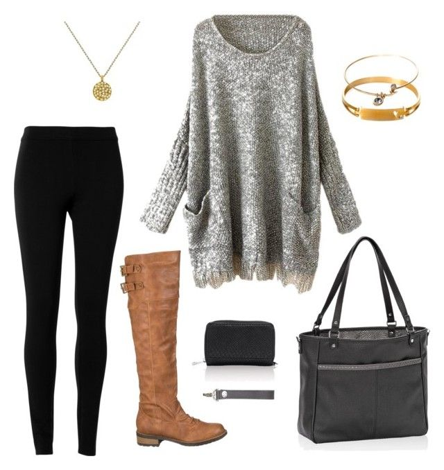 U0026quot;Oversized sweater + Thirty-One accessoriesu0026quot; by jonetg on Polyvore featuring Max Studio ...