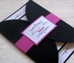 bling wedding invitations - Google Search