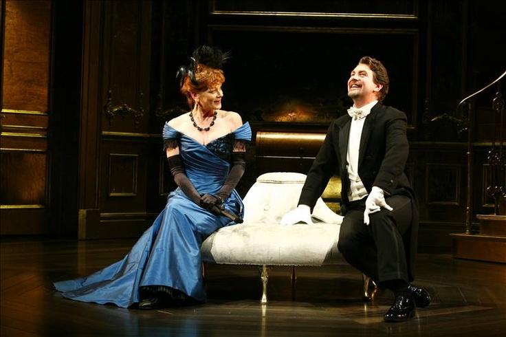Samantha Bond as Mrs. Cheveley in Oscar Wilde's 'An Ideal Husband' at the Vaudeville Theatre, London 2010