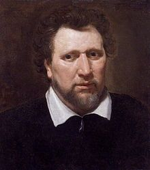 Benjamin Jonson  Writer and colleague of Francis Bacon by Abraham van Blyenberch