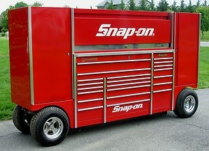 ... Candy Apple Red Pit Box Tool Wagon Tool Box | Snap On | Pinterest