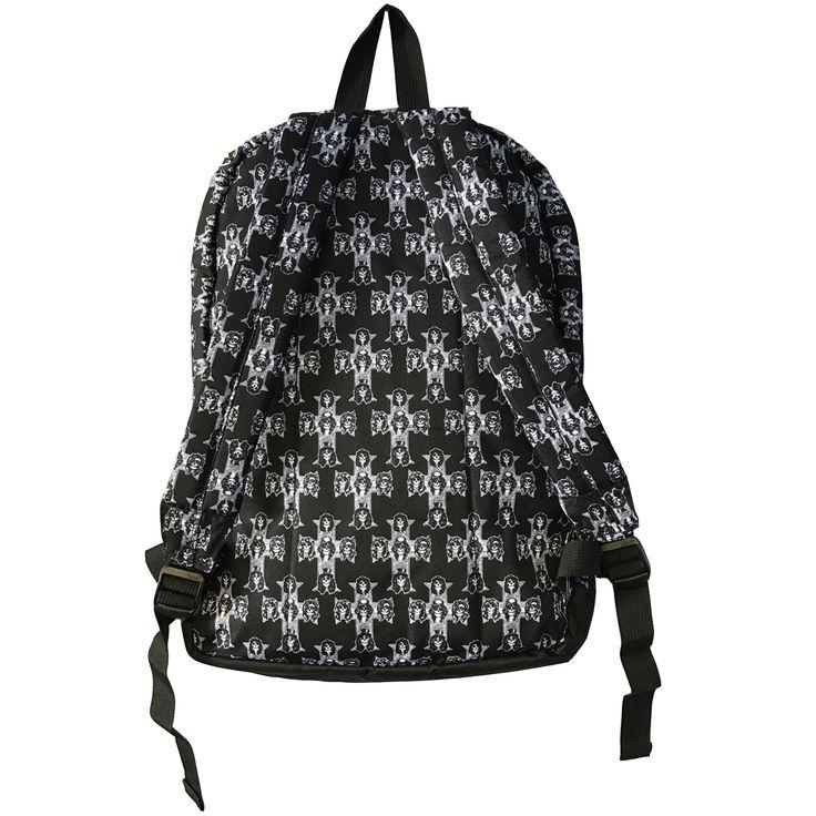 Guns N Roses Backpack bag Appetite For Destruction Band Logo Black - Paradiso Clothing