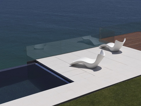 detalles paisajismo piscinas bar de la piscina diseo exterior espacios al aire libre karim rashid surf muebles de jardn