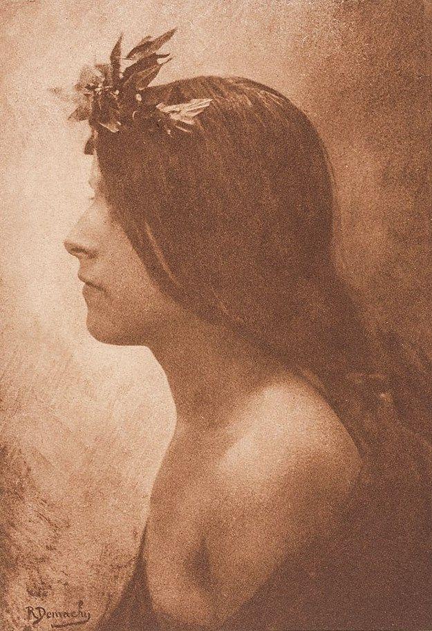 Mädchen im Profil   Robert Demachy   1898   Museum Für Kunst Und Gewerbe Hamburg   CC0
