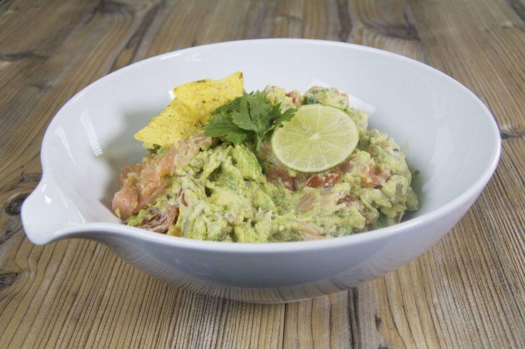 Pour tous les fans d'avocat : recette de guacamole crémeux au saumon fumé