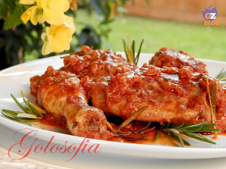 Pollo alla cacciatora-ricetta secondi di carne-golosofia