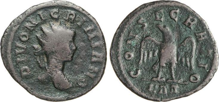 NumisBids: Numismatica Varesi s.a.s. Auction 65, Lot 269 : NIGRINIANO († 285 ?) Antoniniano. D/ Busto radiato R/ Aquila. ...