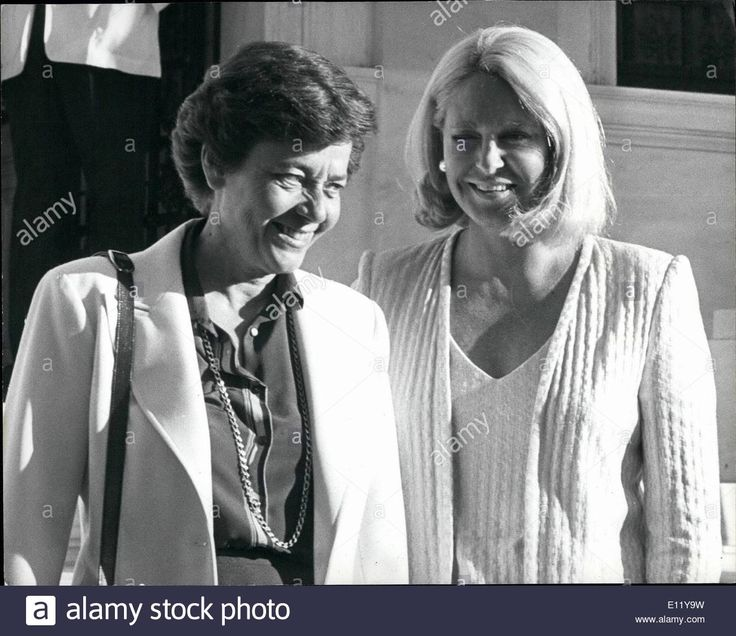 Download this stock image: Dec. 12, 1980 - Joan Kennedy and Daughter visit Athens.: Joan Kennedy, wife of senator Ted Kennedy, is currently on a visit to A - e11y9w from Alamy's library of millions of high resolution stock photos, illustrations and vectors.