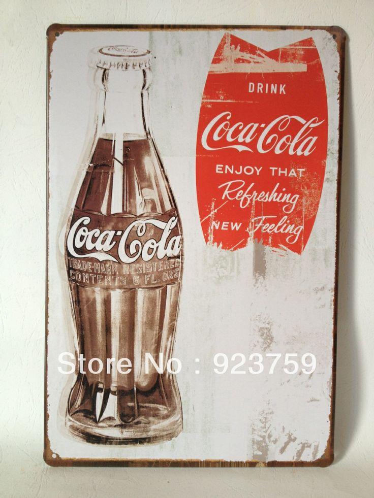 112 Best Coca Cola Metal Signs Images On Pinterest Home Decorators Catalog Best Ideas of Home Decor and Design [homedecoratorscatalog.us]