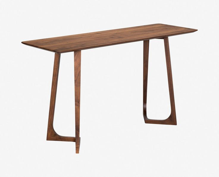 Classic modern minimalist Scandinavian console table