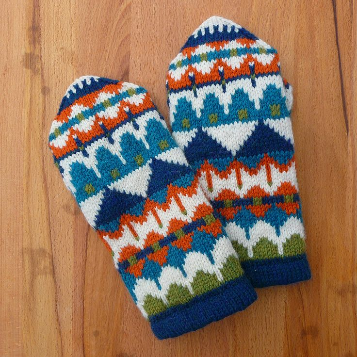 Ravelry: Scandes Mittens by Adrian Bizilia. #mittenS:-)