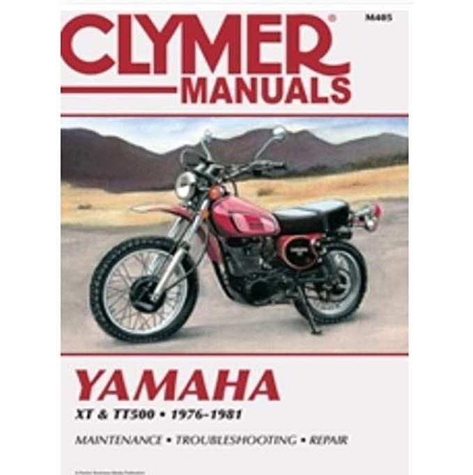Clymer Repair Manual For Yamaha Xt500 Tt500 76 81 Review Clymer Repair Manuals Yamaha