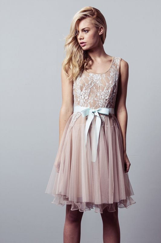 Lace tulle dress $35