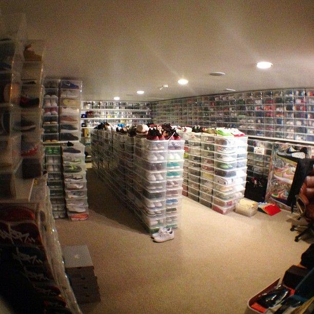Craft Room Closet Organization Ideas
