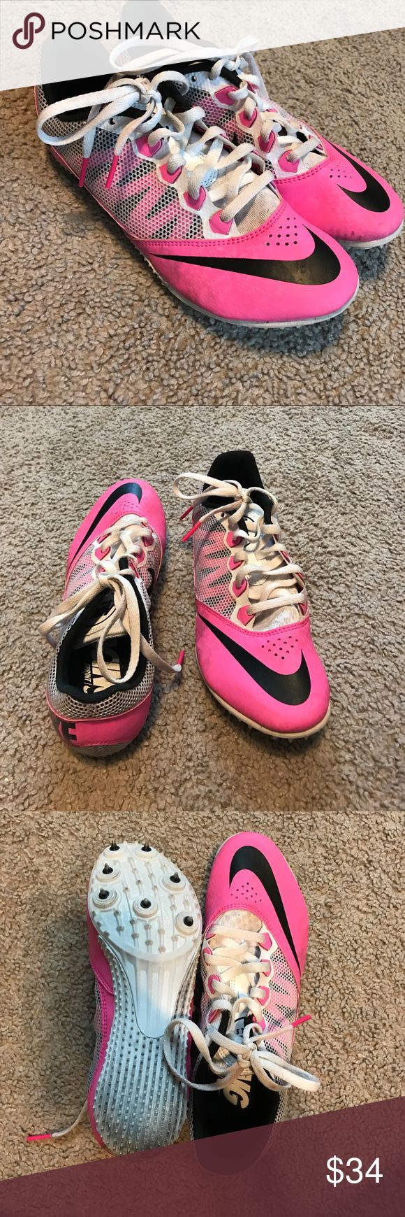 Track and field spikes Used but still in good condition needs new spikes Nike Shoes Sneakers