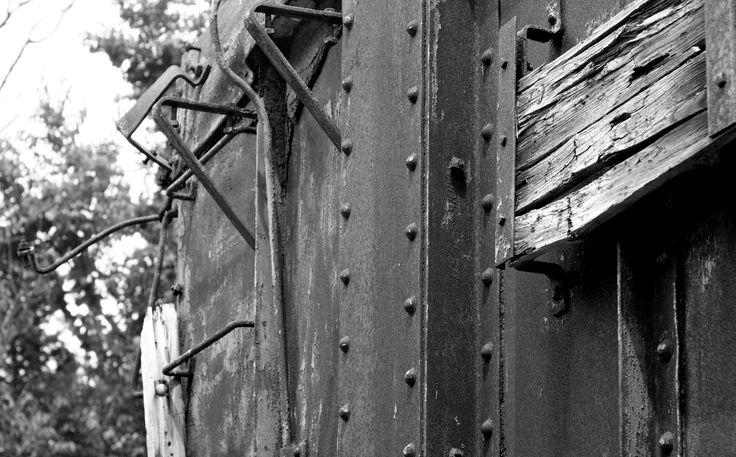 Lorton and Occoquan Railroad car