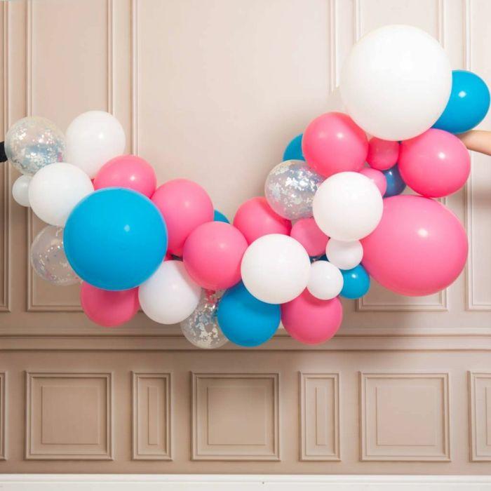 1001 Idees Creatives Pour Faire Une Arche De Ballons Arche Ballon Ballon Ballon Rose