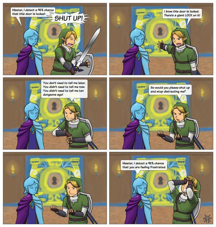 Fi The Distraction  The Legend Of Zelda  Legend Of Zelda -3451