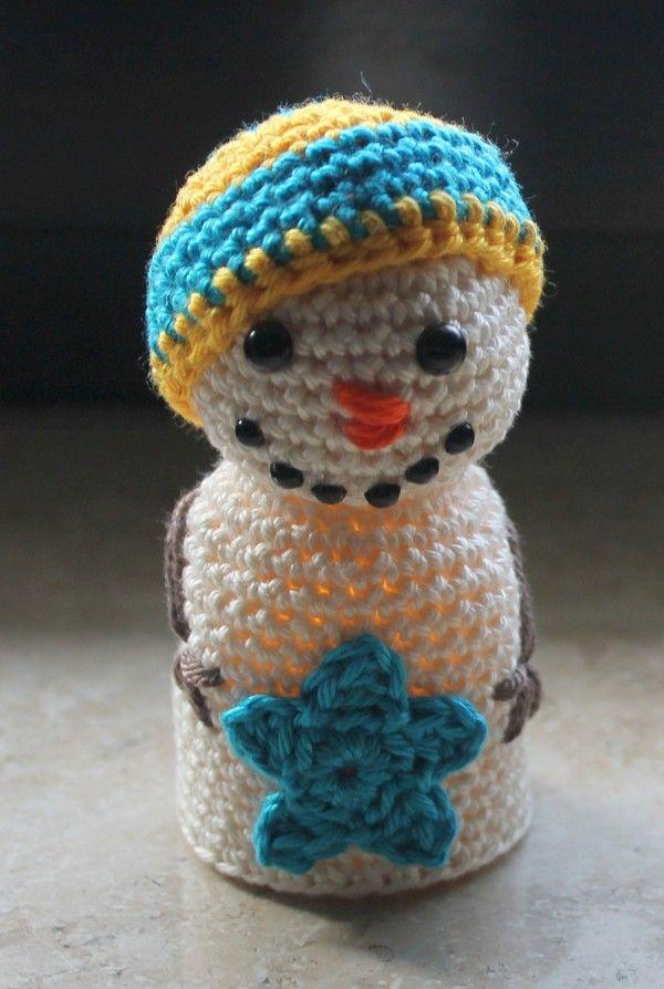 64 besten Schneemann Bilder auf Pinterest   Gehäkelte spielsachen ...