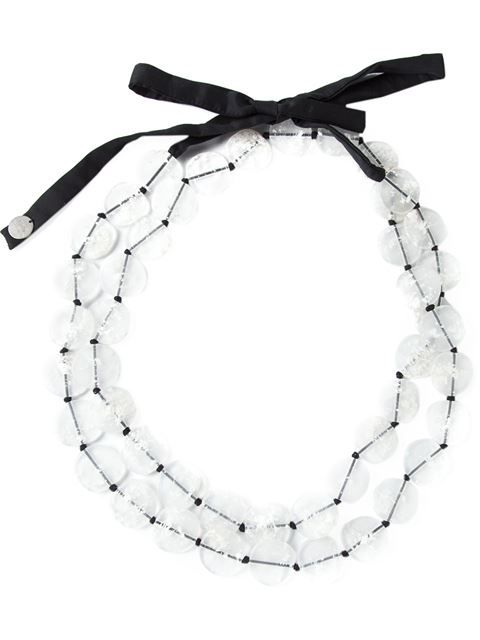 Shop Maria Calderara resin stones tied necklace in Bernardelli from the world's best independent boutiques at farfetch.com. Shop 300 boutiques at one address.