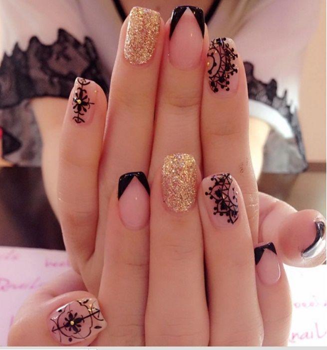 ¡No dejes de ver estos hermosos diseños con mandala!#NailsArt