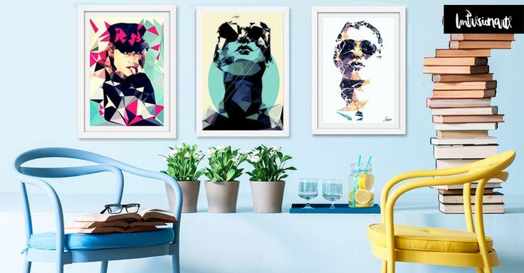 Living Impresionarte con Obras de Mayka Ienova artista de Mexico